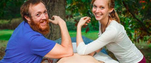Victoria & Brian 4 Handed Massage
