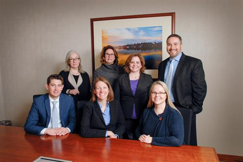 Ithaca Team:  L-R Back Row – Jean Everett, Susan Katzoff, Cecelia Cannon, Aaron Frishman  Front Row – Joshua Werbeck, Kimberly Rothman, Emilee Lawson Hatch. Not Pictured: David A. Holstein, Georgia G. Crinnin