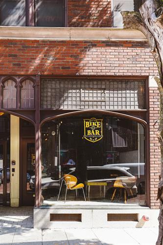 Bike Bar Exterior