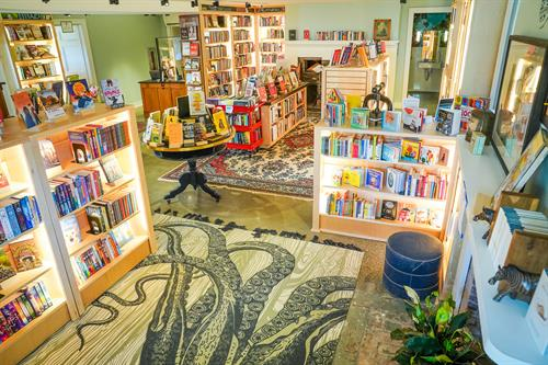 Odyssey Bookstore Interior