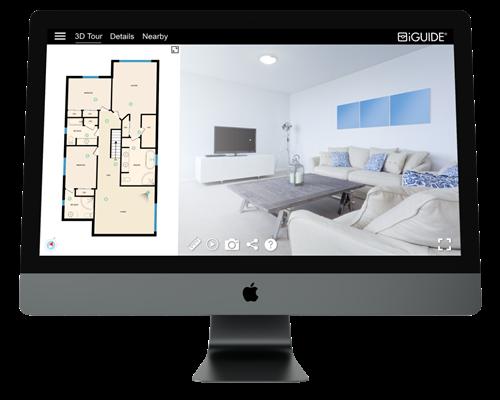 Example 3D tour & floor plan