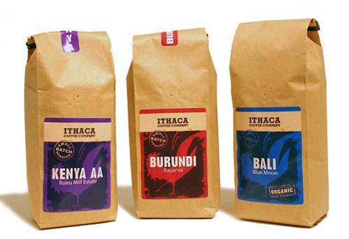 A few of our packaged coffees