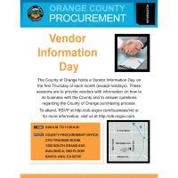 Vendor Information Day
