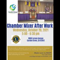 Chamber Mixer After Work