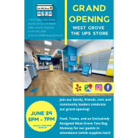 Grand Opening for The UPS Store - West Grove