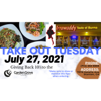 Restaurant Take-Out Tuesday