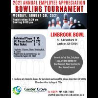 2021 Employee Appreciation Bowling Tournament