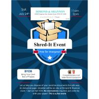 Shred-It Event