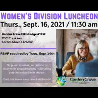 Women Division Luncheon