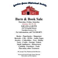Fall Barn & Book Sale