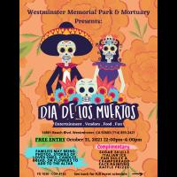 Westminster Memorial: Dia de los Muertos