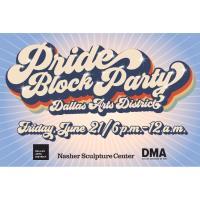 Pride Block Party | Dallas Arts District