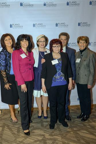 Beckley Team at Plano Chamber Annual Meeting in Jan 2018
