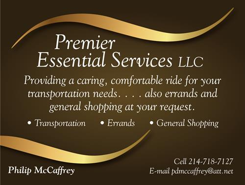 Providing Caring, Comfortable, Safe, and Reliable Transportation Service