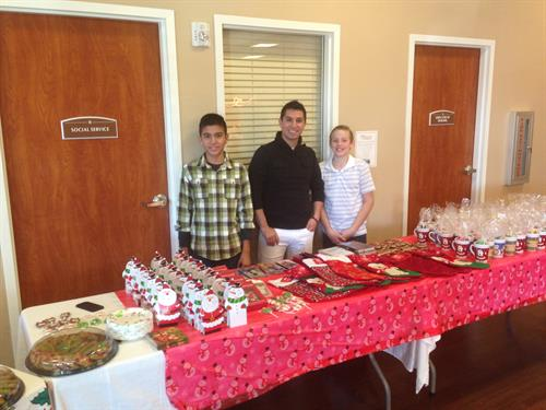 Volunteering for Darlene's Gifts
