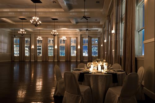 The Room on Main traditional and historical ballroom