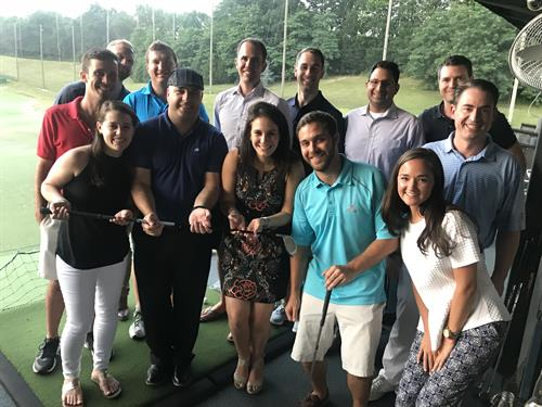 Top Golf Team Outing