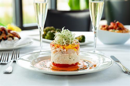 Crab & Shrimp Napoleon
