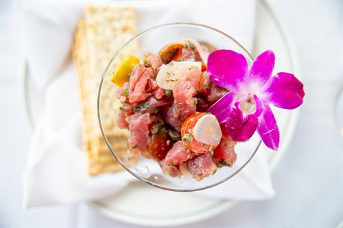 Hawaiian Tuna Crudo