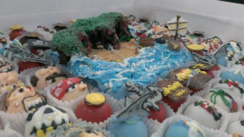 Pirate Cove themed Cakettes