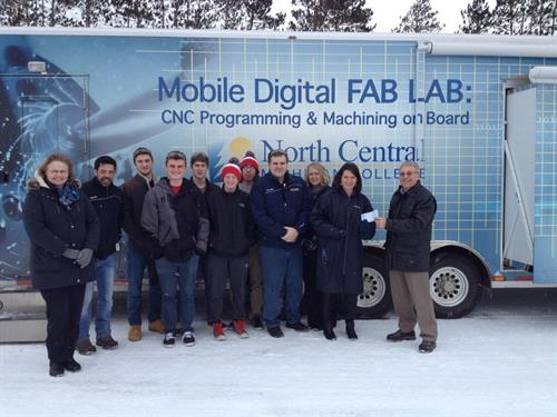 Fab Lab and Boyne City High School