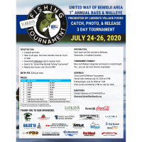 1 st Annual United Way Bass & Walleye Fishing Tournament