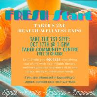 Taber's 2nd Health/Wellness Expo