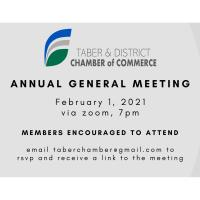 Taber & District Chamber of Commerce Annual General Meeting