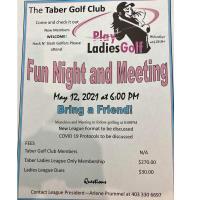 Ladies Golf Fun Night & Meeting