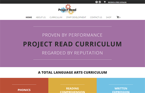 Project Read Web Design