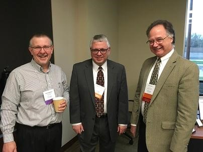 Scott at a meeting of the Society of Financial Service Professionals