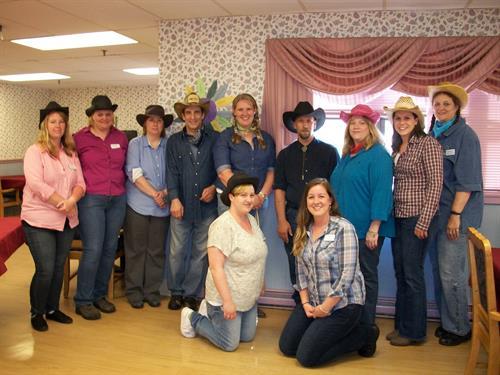 Cowboy Day during National Nursing Home Week 2014