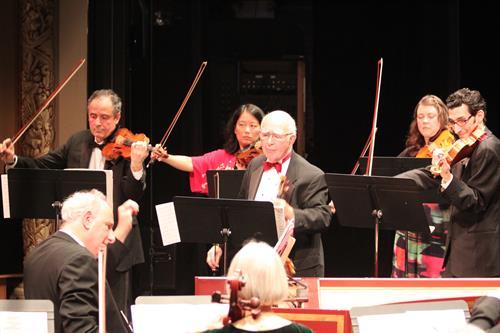 Berkshire Bach Ensemble members Eugene Drucker, Joseph Silverstein, Patrick Wood, LiuhWen Ting, Irena Momchilova