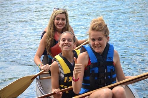 Canoeing on KLake buel