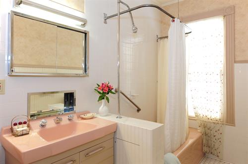 Garden room bathroom