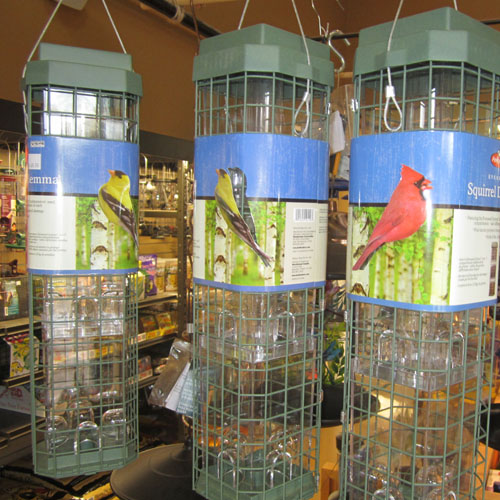 Birdfeeders and seed