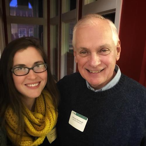 Maria Rundle, ED of Flying Cloud Institute, and Mike at a Chamber After Hours hosted by High Peak Partners. Mike is proud to serve on the Flying Cloud Institute Board of Directors