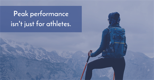 Peak performance isn't just for athletes