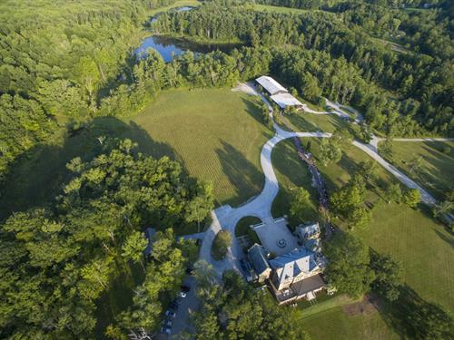 Arial View of CMC:Berkshires and the Grounds