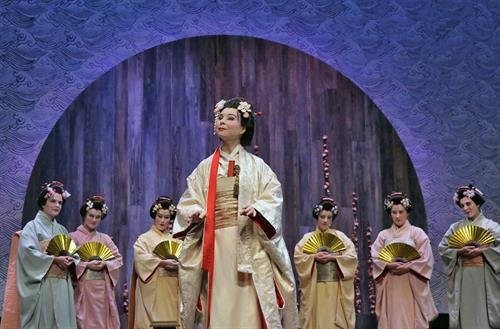From BOF's Production of Madama Butterfly.  (photo credit: Ken Howard)