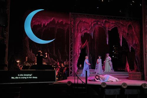 From BOF's Production of Ariadne auf Naxos.  (photo credit: Ken Howard)