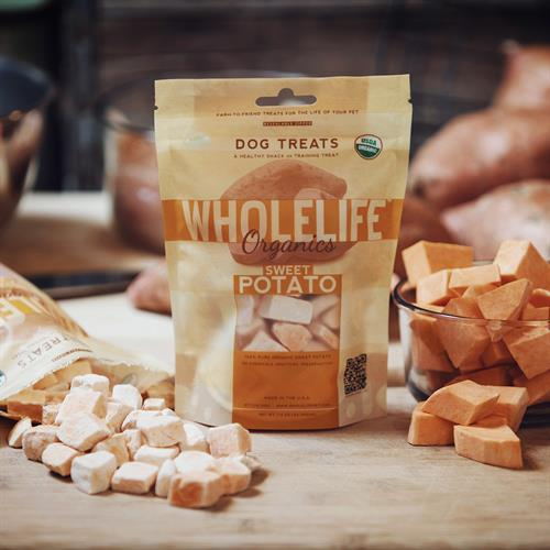 Whole Life Dog Treats, Logo, Package Design Product Photography