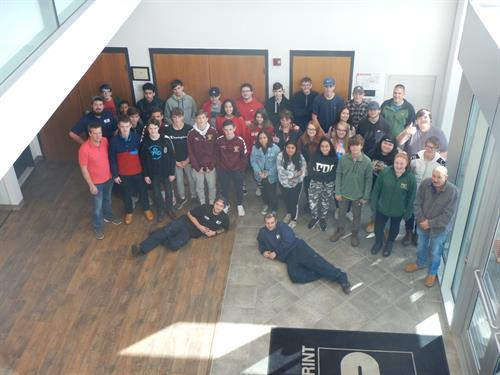 Interprint School Tour Picture 2019