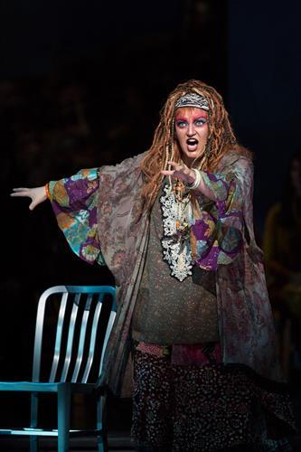 Mezzo-soprano Ann McMahon Quintero as Ulrica