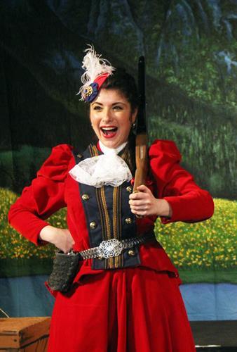 Soprano Chelsea Friedlander as Marie