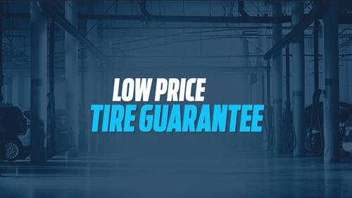 Our Low Price Tire Guarantee applies to 13 of the most popular tire brands available. No one sells them for less!