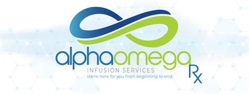Logo Design - AlphaOmega Infusion Services - Houston, TX #Logo #Branding #GraphicDesign