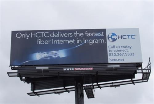Outdoor Billboard - HCTC - Ingram, TX #Outdoor #Branding #Campaigns #Copywriting #Design