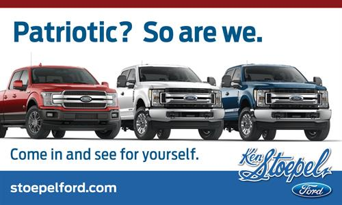 Outdoor Billboard - Ken Stoepel Ford - Kerrville, TX #Outdoor #Copywriting #Design