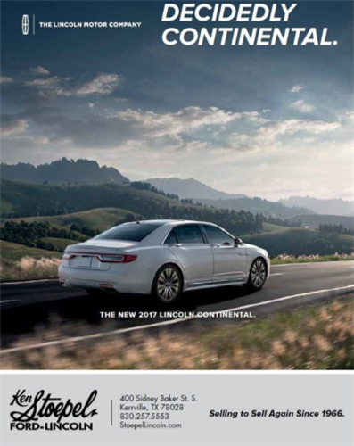 Ken Stoepel Ford-Lincoln Magazine Ad Design - Kerrville, TX #Print #Design #Advertising #Kerrville